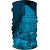 HAD Printed Fleece Halsbedekking blauw/turquoise